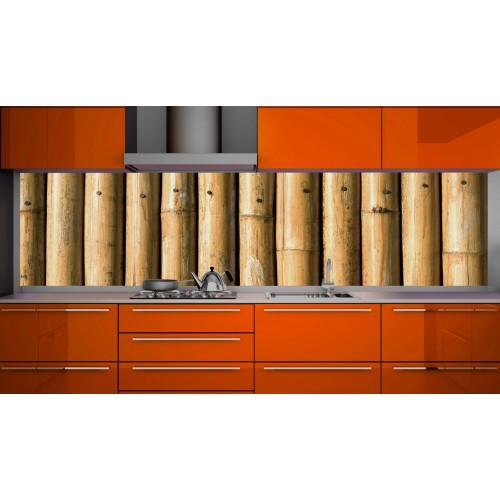 Принт стъкло за кухня модел 19175 бамбук