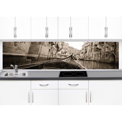 Принт стъкло за кухня модел 19254 Венеция
