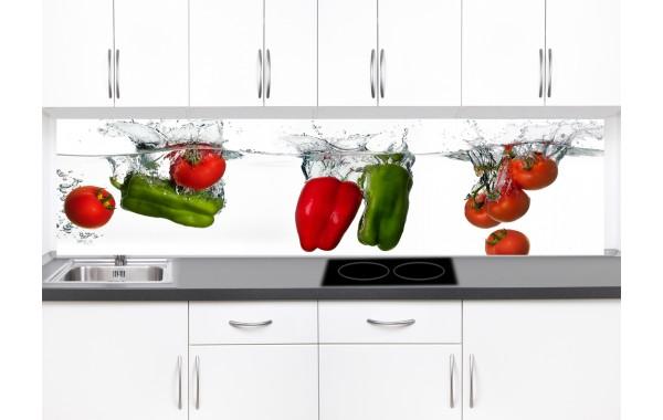 Принт стъкло за кухня  модел 19370