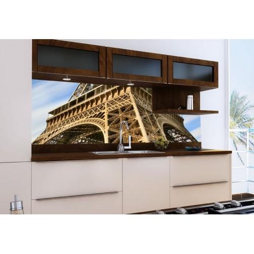 Принт стъкло за кухня модел 19025 Айфелова Кула