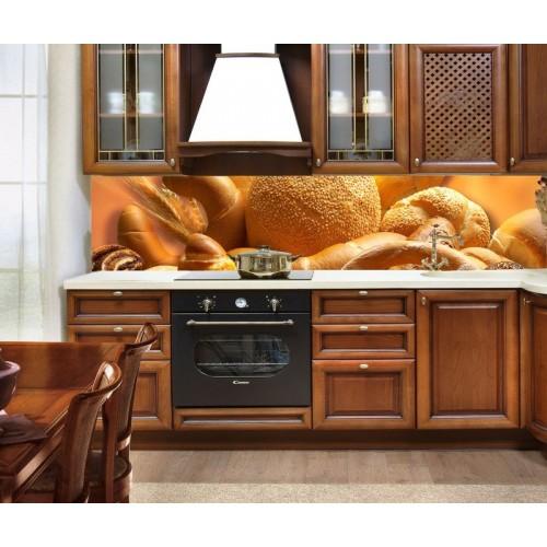 Принт стъкло за кухня  модел 19008 хляб