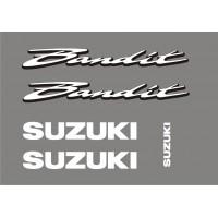 Стикери за мотор SUZUKI GSF 600N Bandit комплект надписи модел 26317