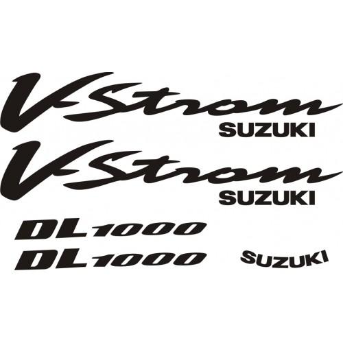 Стикери за SUZUKI DL 1000 V-Strom 2002 модел 26363