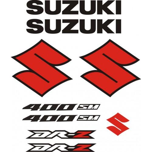 Стикери за SUZUKI DR-Z 400 SM  модел 26388