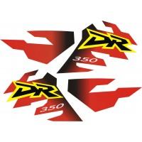 Стикери за SUZUKI DR 350 комплект стикери модел 26393