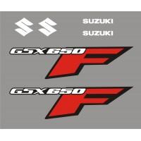 Стикери за SUZUKI GSX 650 F  модел 26448