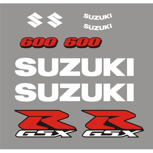 Стикери за SUZUKI GSX-R 600 2006 модел 26461