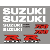 Стикери за SUZUKI GSX-R 750 01-2002  модел 26470