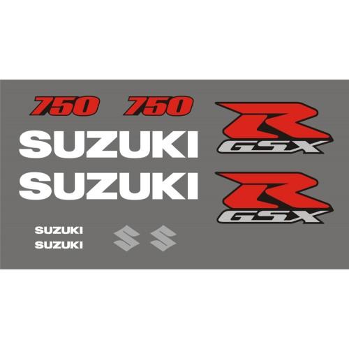 Стикери за SUZUKI GSX-R 750 2006 модел 26472