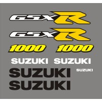 Стикери за SUZUKI GSX-R 1000  2001  модел 26483
