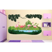 Стикери за детска стая ФЛАМИНГО модел 20394