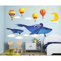 Стикери за детска стая Сънчо в чудният свят на Приказките модел 20460