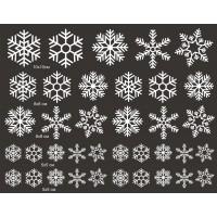 Стикери за детска стая снежинки модел 20801