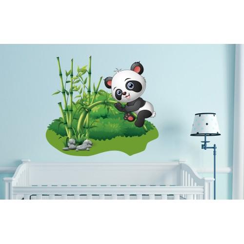 Стикери за стена на детска стая модел 20021 панда