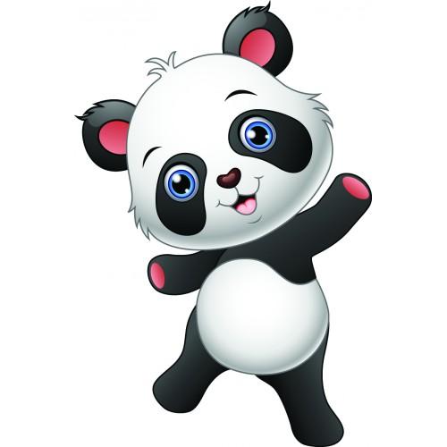 Стикери за детска стая  Модел 20022 панда