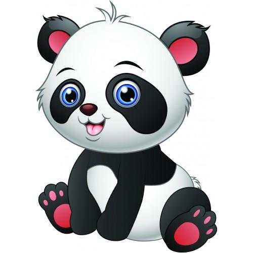 Стикери за стена на детска стая  Модел 20023 панда