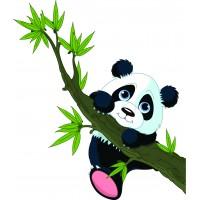 Стикери за стена на детска стая модел 20025 панда