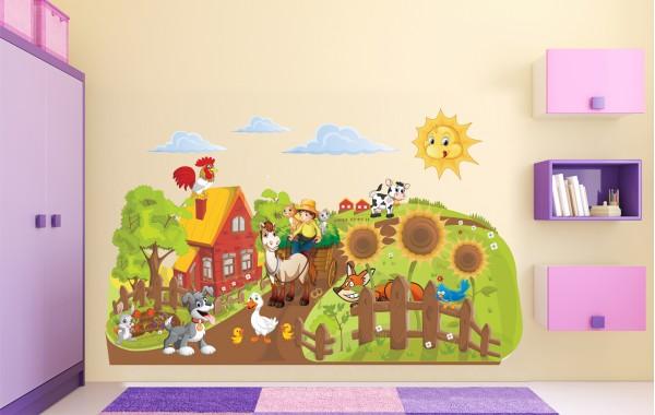 Стикери за детска стая  Модел 20070 ферма