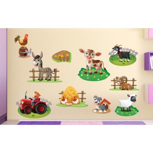 Стикери за детска стая  Модел 20071 ферма