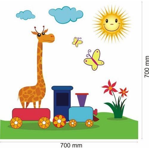 Стикери за детска стая-разходка с Влак 20126