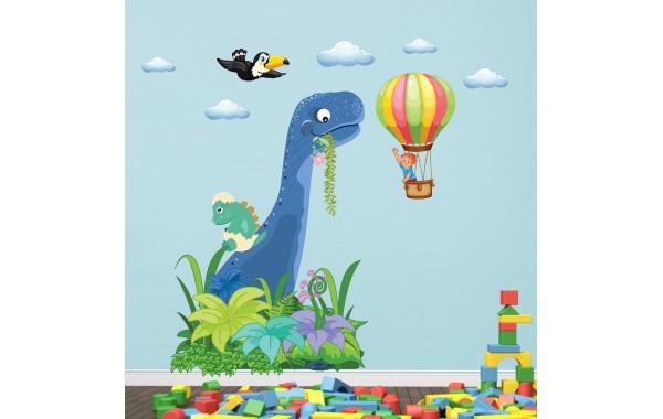 Стикери за детска стая дино и откривателя модел 20129