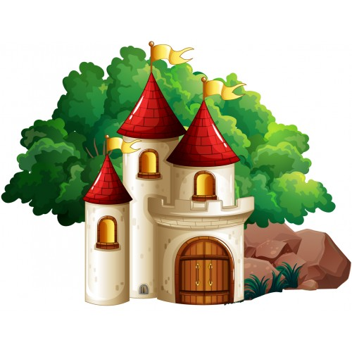 Стикери за детска стая  Замък Модел 20145