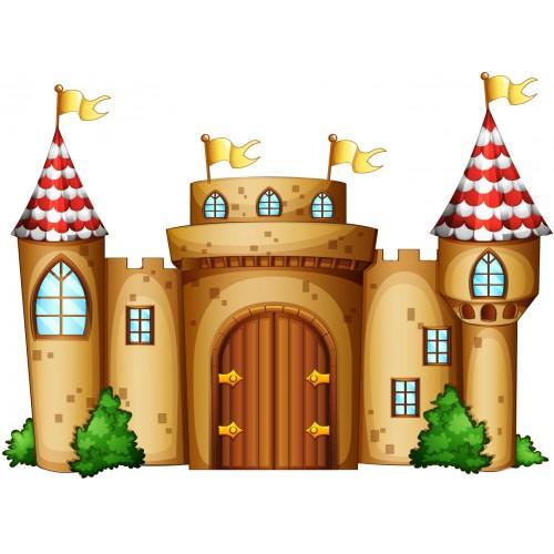Стикери за детска стая  Замък Модел 20146