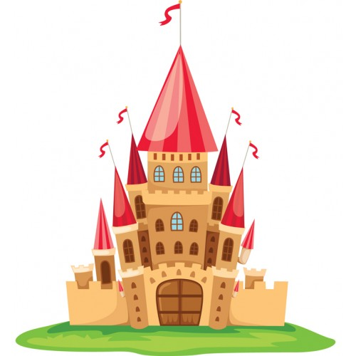 Стикери за детска стая  Замък Модел 20150
