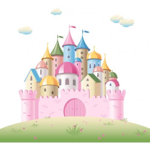 Стикери за детска стая  Замък Модел 20152