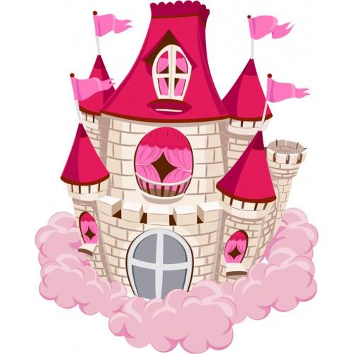 Стикери за детска стая  Замък Модел 20153