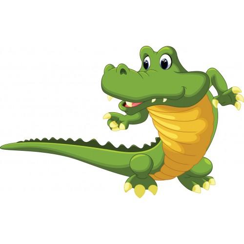 Стикери за стена на детска стая Крокодил Модел 20232