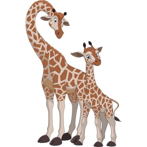 Стикери за стена на детска стая Жирафи  Модел 20279