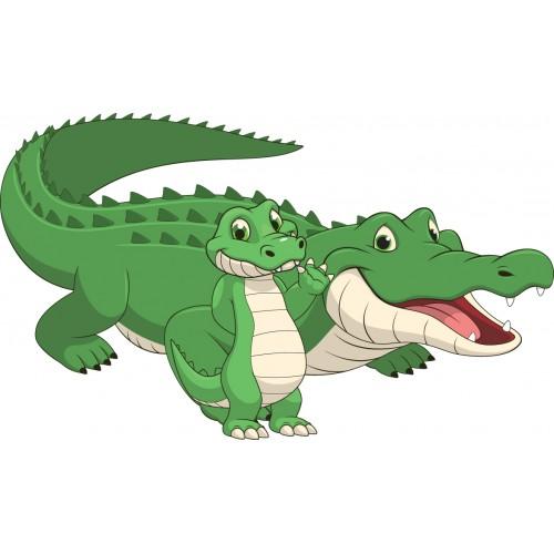 Стикери за стена на детска стая Крокодил  Модел 20291