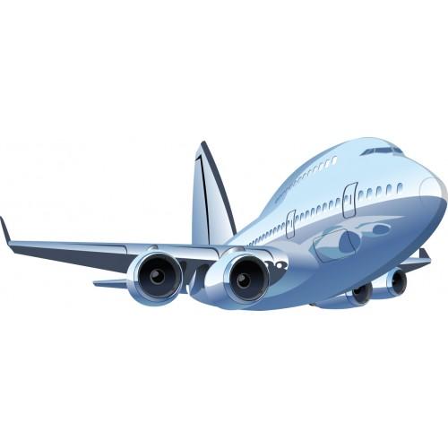 Стикери за стена на детска стая Самолет Модел 20401
