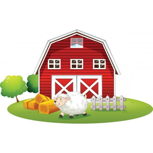 Стикери за детска стая Ферма Модел 20407