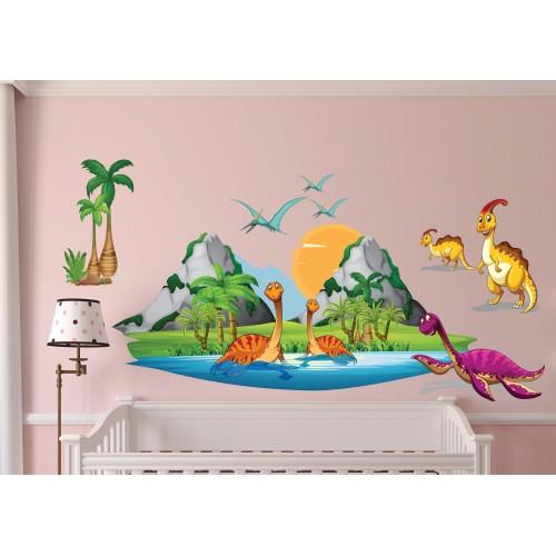 Стикери за детска стая Динозаври модел 20440