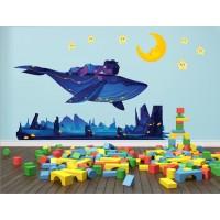 Стикери за детска стая  Модел 20460 емо и нощен подводен свят