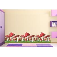 Стикер фриз за детска стая модел 20508 с гъбки