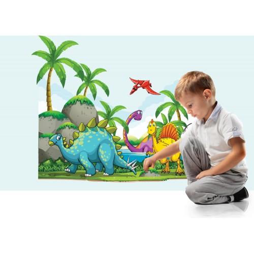 Стикери за стена на детска стая Джурасик Парк Модел 20530