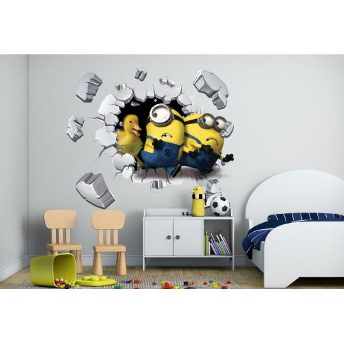 Стикери за стена на детска стая 3D  Модел 20645