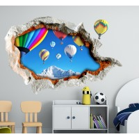 Стикери за детска стая 3D Балони Модел 20667