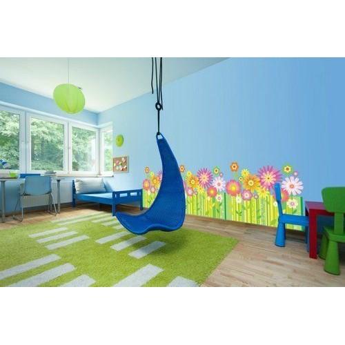 Стикери за детска стая модел 20010 фриз Цветенца