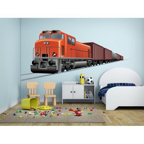 Стикери за стена на детска стая Влак Модел 20142