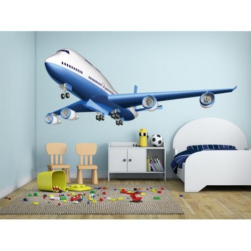 Стикери за стена на детска стая Самолет Модел 20143