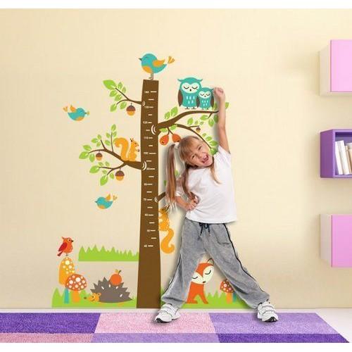Стикери за детска стая модел 20017 за Ръст с горски животни