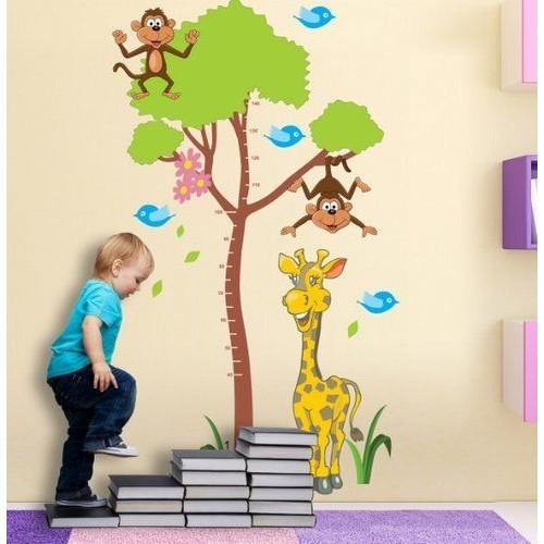 Стикери за детска стая модел 20011 за Ръст с Жираф