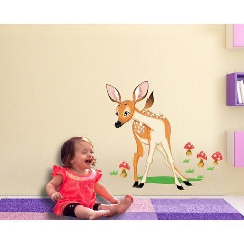 Стикери за детска стая модел 20013 Сърничка в горичка