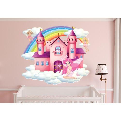 Стикери за детска стая Замъка на Феите модел 20016