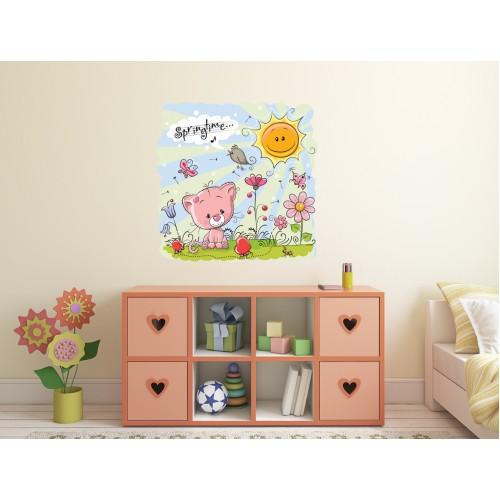 Стикери за детска стая Коте Модел 20560