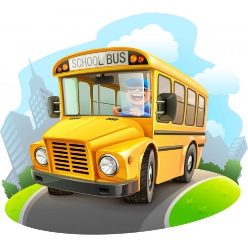 Стикери за детска стая Автобус  Модел 20650